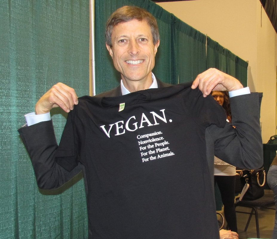 Neal Barnard MD Vegan Shirt