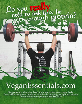 Vegan Shirt strong man Ryan Wilson VeganEssentials