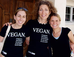 Vegan Shirt friends